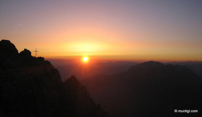 10.07.2010 05:24 Watzmann/Hocheck (2685m)