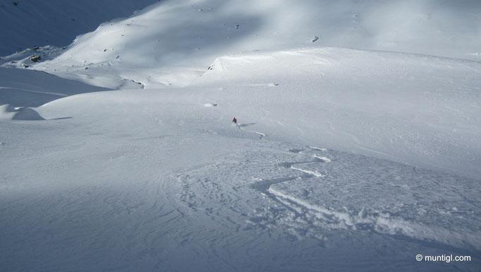 28.02.2013 15:40 Kurz vor der Jamtalhütte (Silvretta/Galtür)