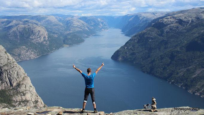 26.08.2014 13:31 Preikestolen (Norwegen)