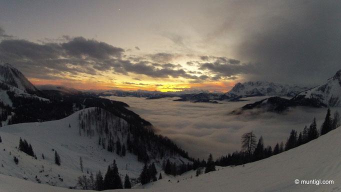 16.12.2012 16:34  Hacklhütte (Eiskogel, Tennengebirge)