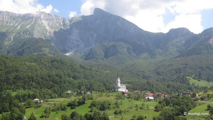 08.08.2014 11:47 Kirche in Dreznica, Socatal (Slovenien)