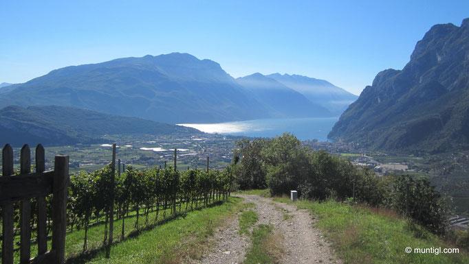 17.10.2013 11:37 Biketour, Tenno Richtung Riva del Garda, Gardasee