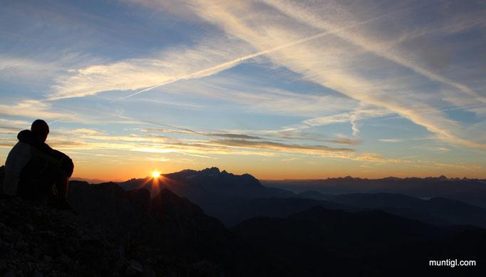 18.09.2014 06:50 Sonnenaufgang Werfner Hochthron