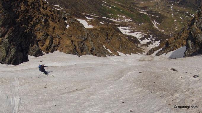 09.05.2013 11:14 Abfahrt Schlapperebenspitze (Sportgastein)