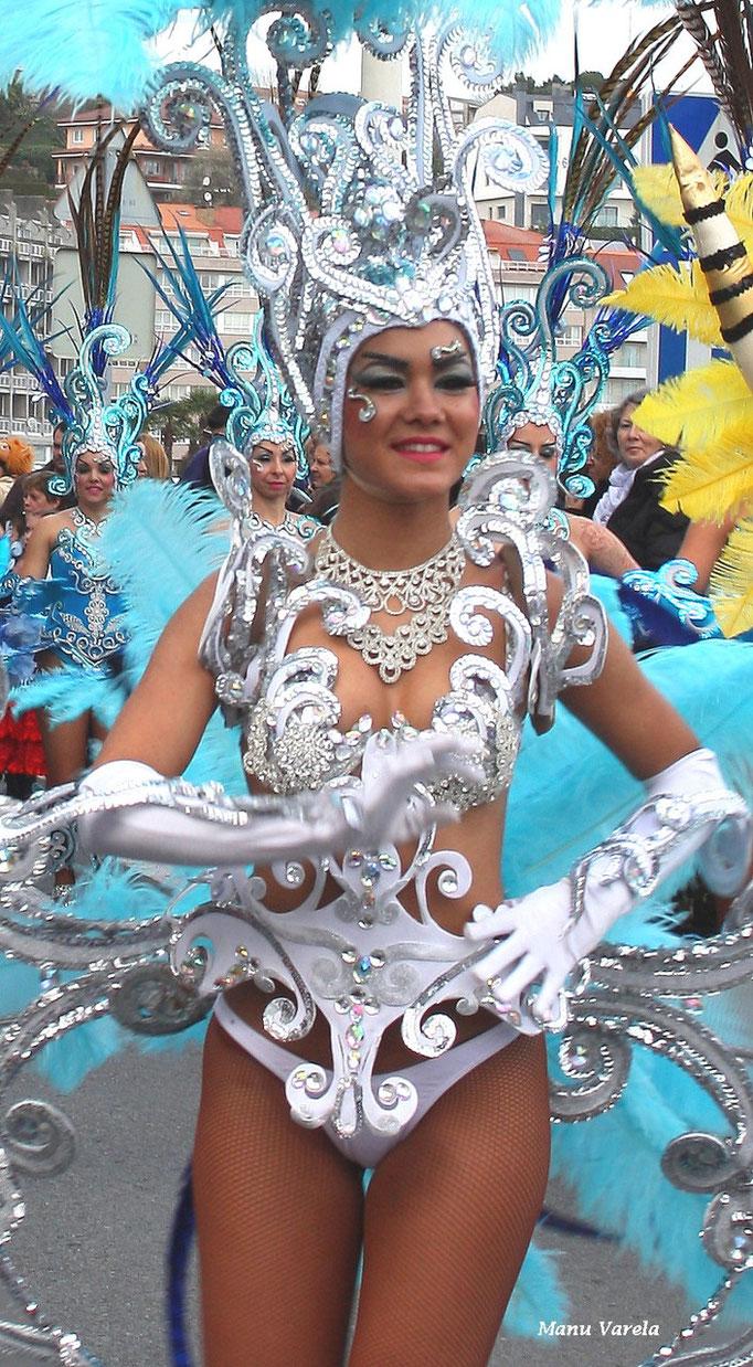 Carnavales 2015 en Sada - La Coruña