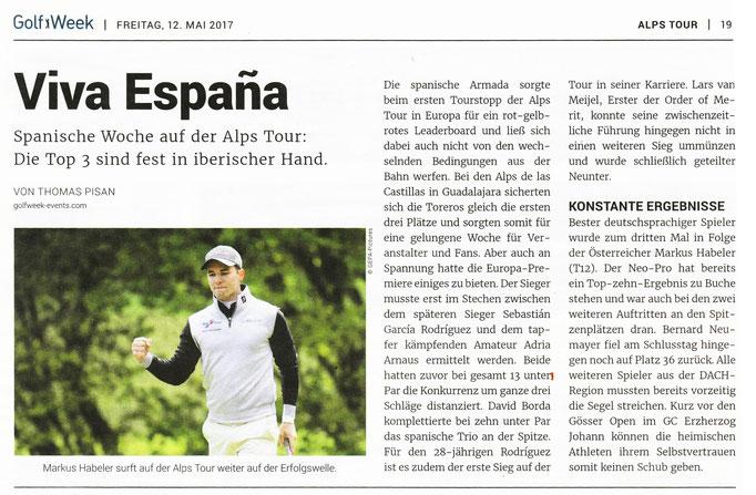 Golf Week, 12.05.2017