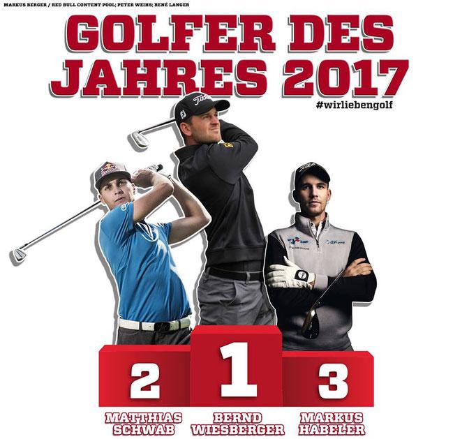 Golfer des Jahres 2017