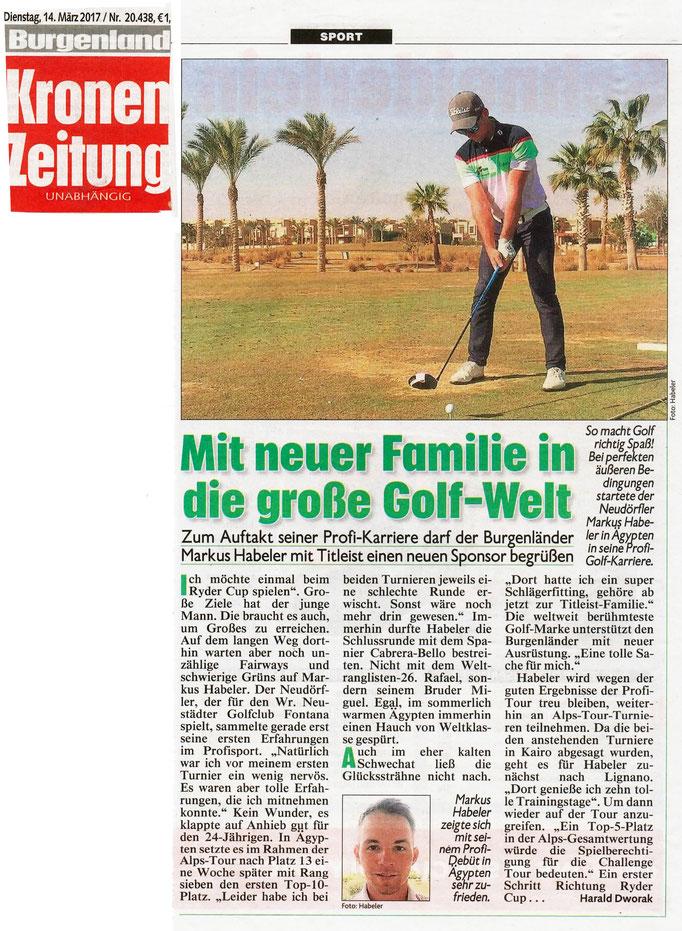 Kronen Zeitung, 14.03.2017