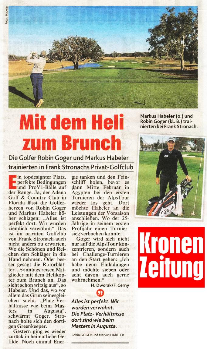Kronen Zeitung, 20.01.2018