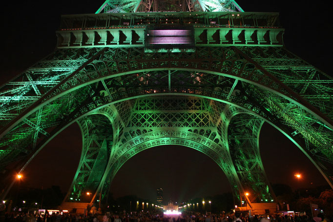 Paris, Frankreich,  Copyright Tour Eiffel - Illuminations Pierre Bideau