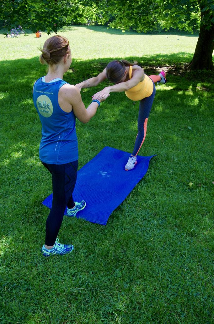 Pränatales Training - Balance