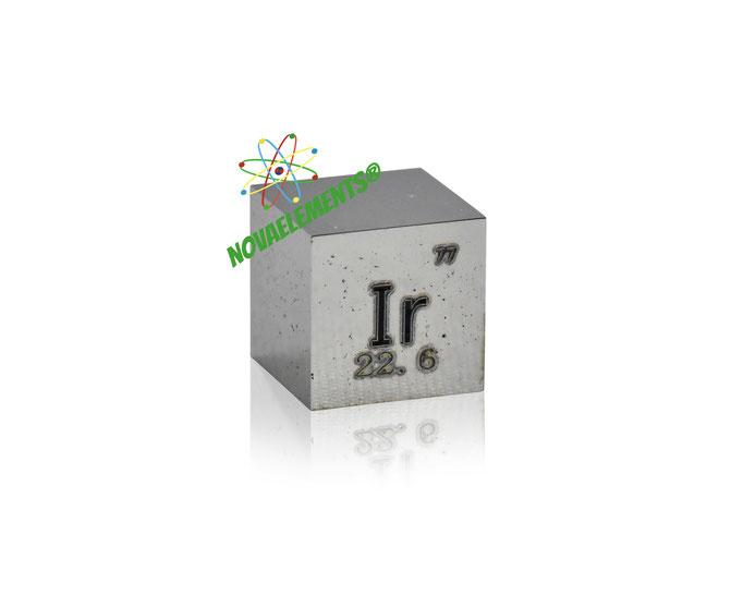 iridium density cube, iridium metal cube, iridium metal, nova elements iridium, iridium metal for element collection, iridium metal for investment, iridium cube, iridium ingot, iridium bar