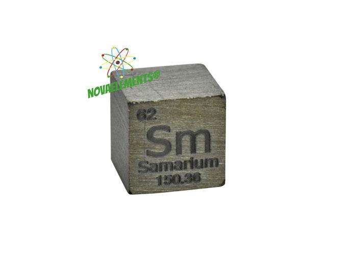 samarium density cube, samarium metal cube, samarium metal, nova elements samarium, samarium metal for element collection, samarium cubes, samarium metal
