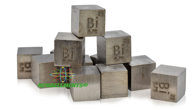 bismuth density cube, bismuth metal cube, bismuth metal, nova elements bismuth, bismuth metal for element collection