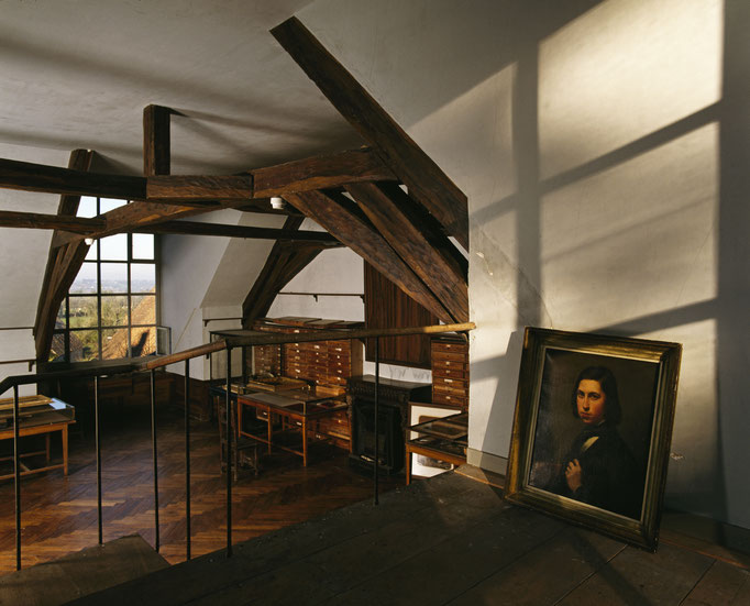 Maison de George Sand, atelier de Maurice Sand