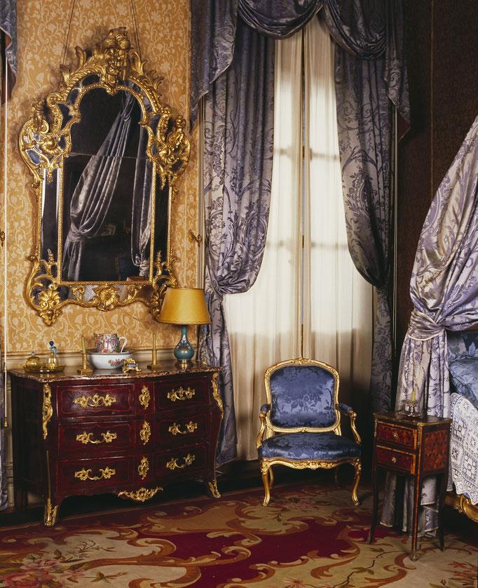 Hôtel de Lunas ou hôtel Hébrard, chambre de Madame