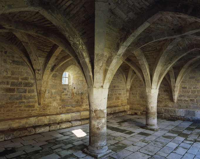 Abbaye de Beaulieu-en-Rouergue, salle capitulaire