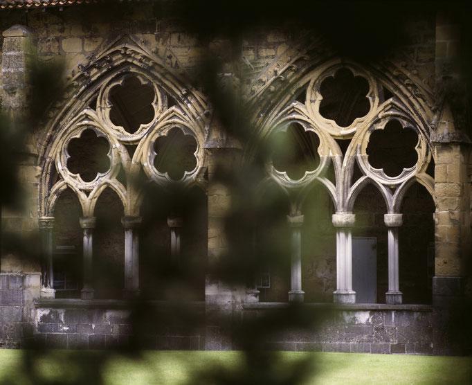 Bayonne, cathédrale Sainte-Marie, cloître  Cote du cliché : ALC92-1419