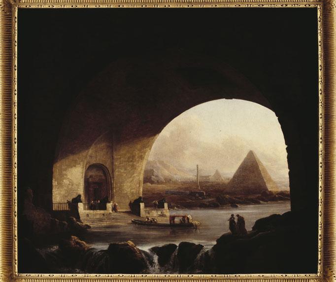 Vue imaginaire d'Égypte Cote du cliché : ALC81-0160