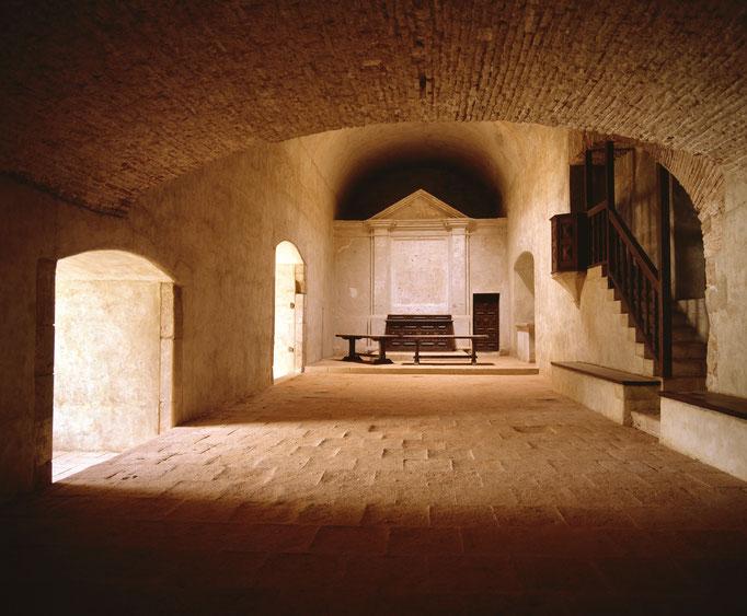 Fort de Salses, chapelle