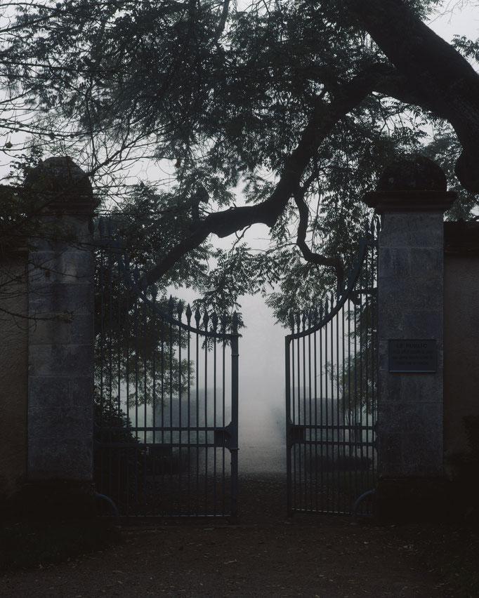 Domaine de George Sand, grille d'entrée
