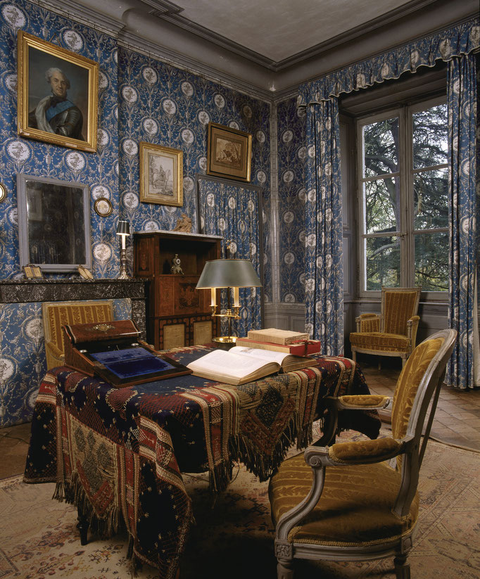 Maison de George Sand, chambre de George Sand Cote du cliché : ALC87-2420