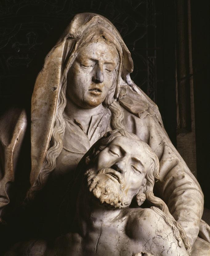 Pietà, détail  Cote du cliché : ALC93-0843