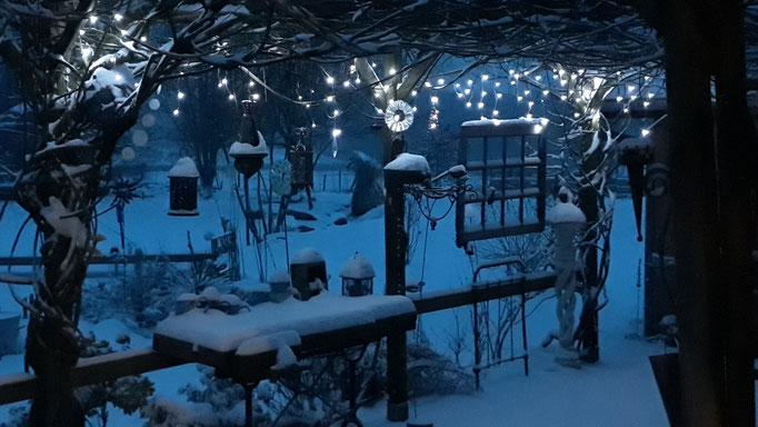 01.03. Fast 10cm Schnee!