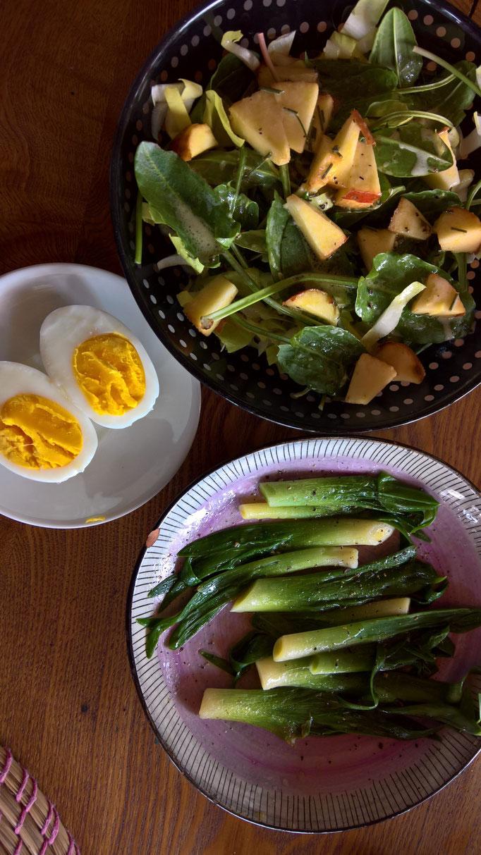 leicht gedünstet schmecken die Taglilien genial!
