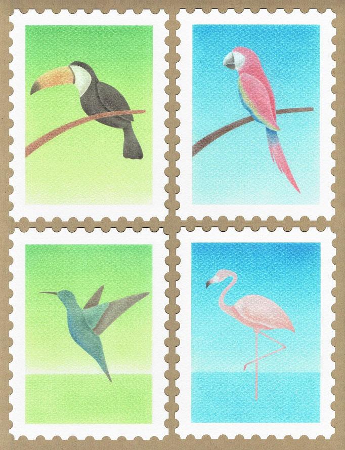 切手No.1