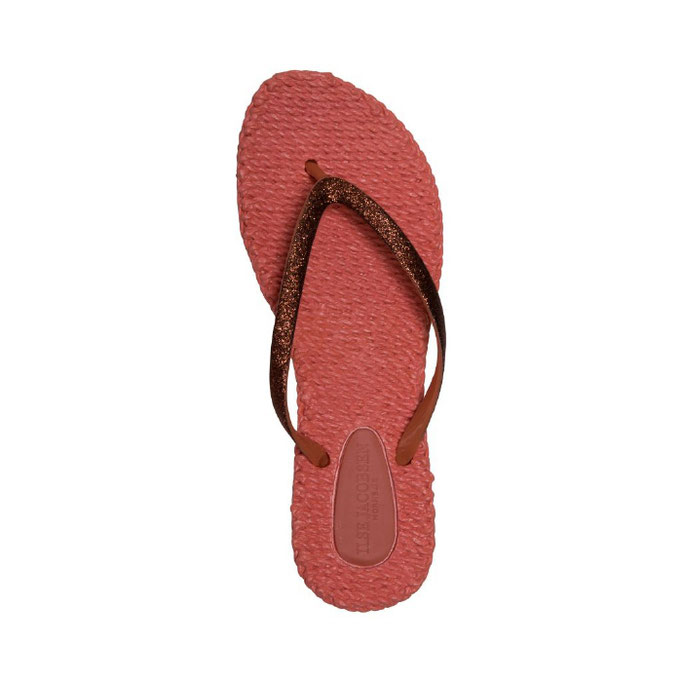 rote Ilse Jacobsen Cheerful Flip Flop