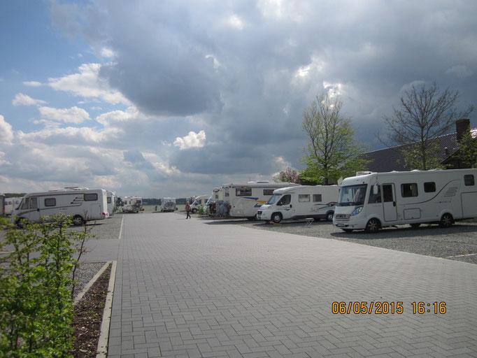 Wohnmobilstellplatz in Schleswig