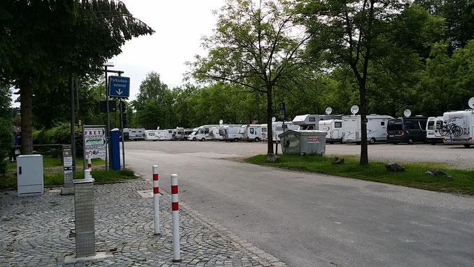 Stellplatz in Bad Tölz