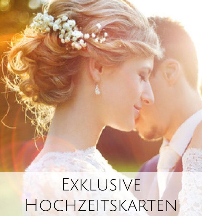 Exklusive Hochzeitseinladung im Letterpress