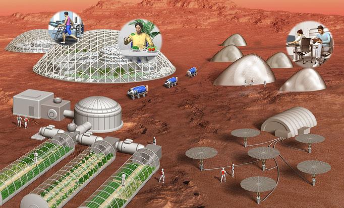 火星移住(出版、特集記事)