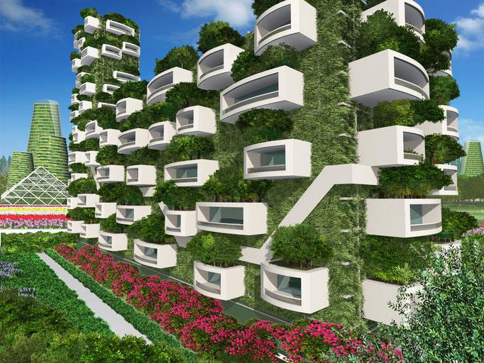 緑のアパート Green Apart