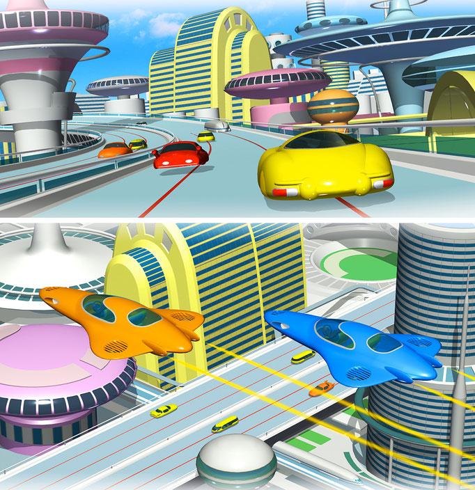未来都市(技術評論社 問題集)