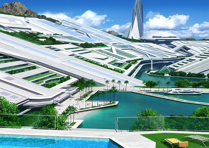 ある未来の街