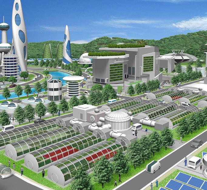 未来の街エネルギー トヨタ社内報