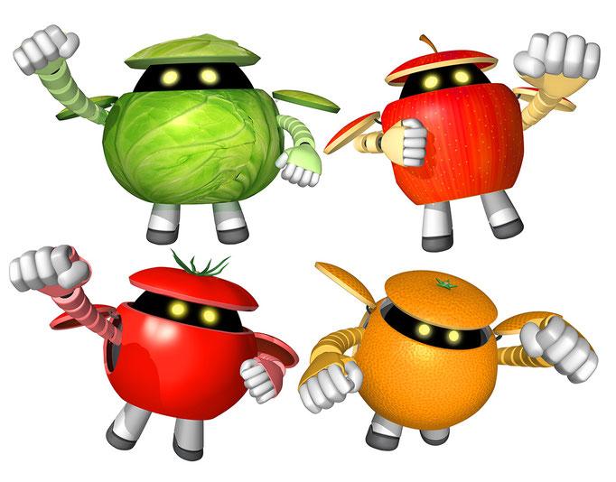 野菜ロボット