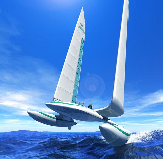 Wing boat W715