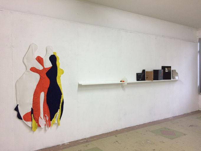 """Reconciliation"", installation, mix media. 2018"