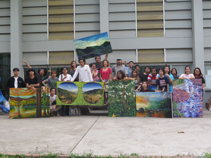Chiang Mai University CMU, Fine Arts faculty. 2017