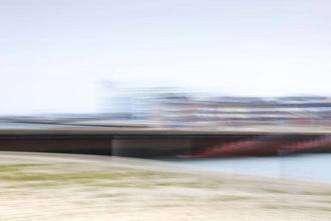 """""""Nordosthafen I""""  aus der Serie """"Schein und Sein"""""""