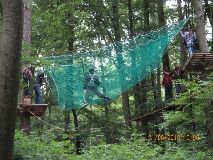 Ausflug in den Kletterwald Veilbronn