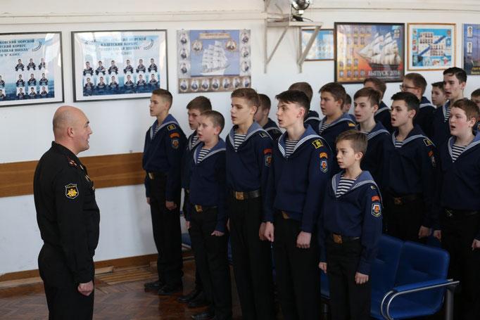 Навигацкая школа, Москва, 2019, 75-летие снятия блокады Ленинграда