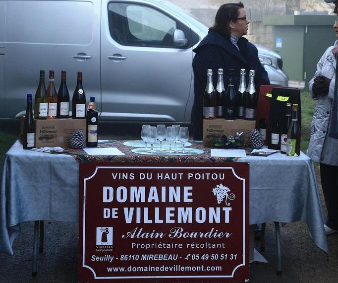 Les vins du Haut Poitou du Domaine de Villemont