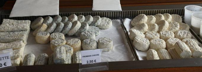 Fromages de chèvre fermiers  et affinés de Rom