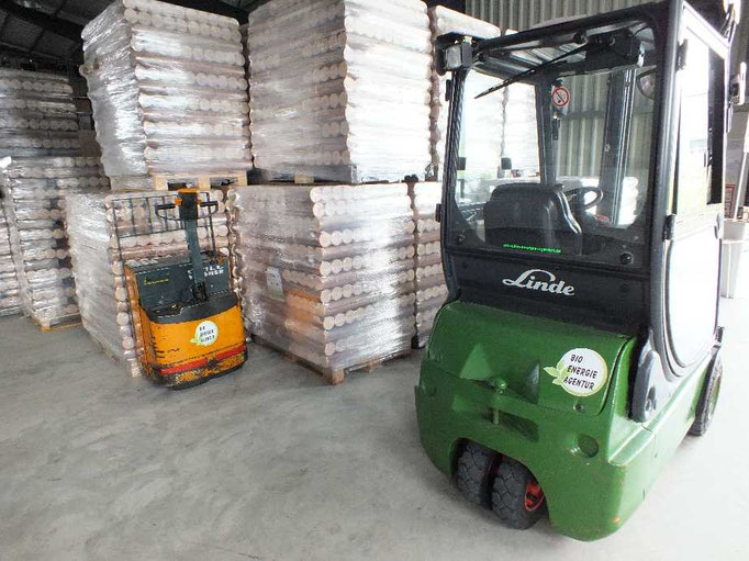 Unsere Geräte zum Handel mit Holzbrennstoffen