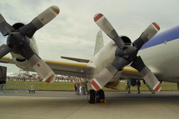 Propeller einer Lockheed P-3C Orion © Andreas U.